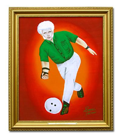 albino bowler
