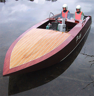 Finkbuilt » Blog Archive » Weedeater Powers Racing Runabout