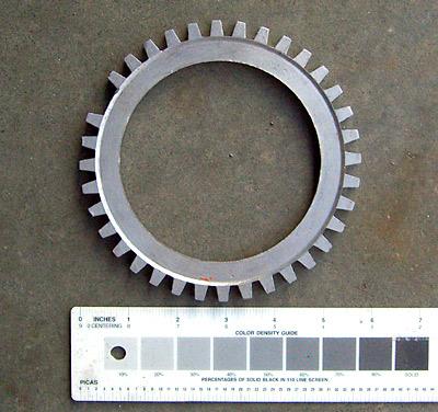 EDIS trigger wheel