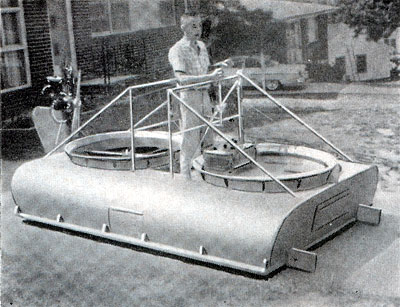 how to build your own hovercraft