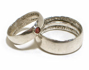 make a ring from a coin