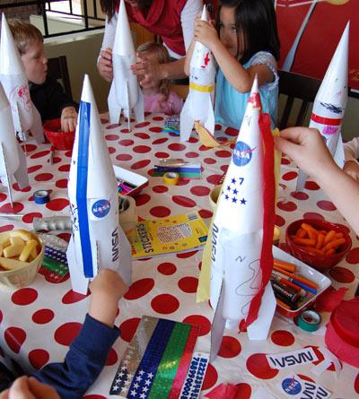 Vyrobte si vodni rakety pro zabavu