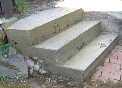 Finkbuilt 187 Blog Archive 187 How To Make Concrete Steps